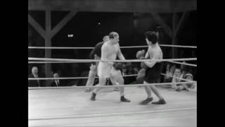 Charlie Chaplin  -  Boxing Comedy City Lights