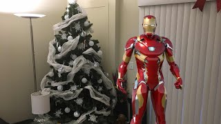 Iron Man suit up effect in an iPhone using Green Screen by Do Ink