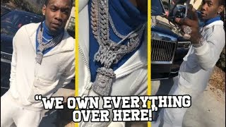 """Offset Migos Stunts On Other Rappers! """"WE OWN OUR S**T OVER HERE"""""""