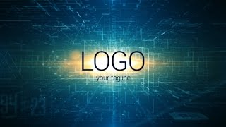 Network Logo Reveal After Effects Template