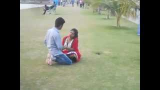 Brake Up Of A Sweet Couple In Kolkata Eco Park width=