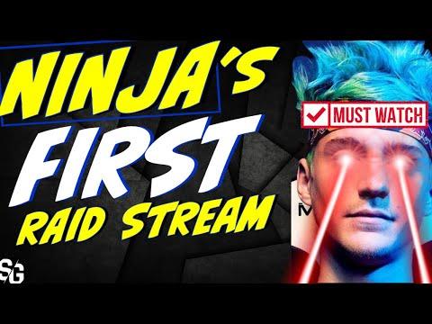 Ninja's first stream lvl-60 NINJA testing! MUST WATCH, it's gold! Raid Shadow Legends
