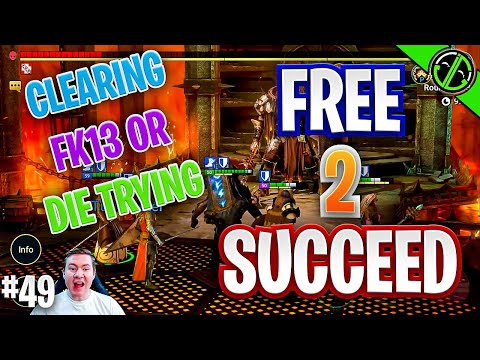 Clearing Fire Knight 13 & Popping A Birthday Sacred | Free 2 Succeed - EPISODE 49