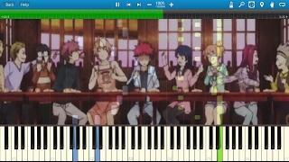 Spice [Kylelandry's Arrangement] | Shokugeki no Soma S1 ED1 | Piano | Synthesia