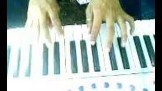 parting time intro on keyboard