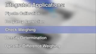 The Precisa Balance Range Overview