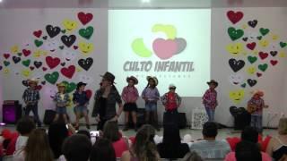 III Apresentação - Estou Alegre - Culto Infantil (05-11-2016)