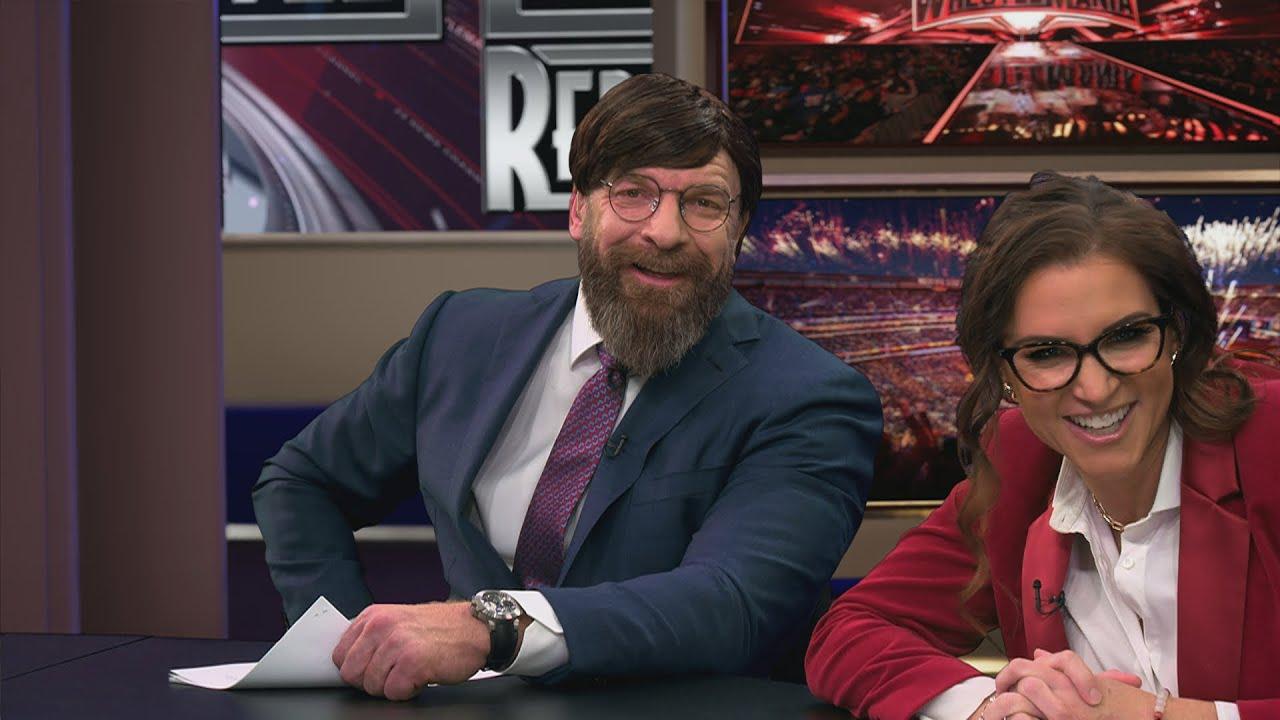 "WWE - ""WrestleMania Report"" bloopers"