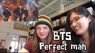Classmate reaction to K-pop (BTS - Perfect Man)