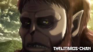 Ape Titan horse throwing scene (Meme version 2)