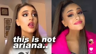 ariana grande is scared of her new doppelganger