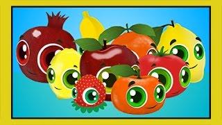 Renkler Sebzeler Meyveler - Eğitici Çizgi Film Bebek Şarkıları - Edis ile Feris