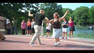 Central Park Swing Flash Mob 7.24.2011