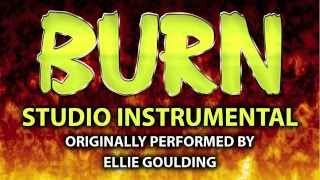 Burn (Cover Instrumental) [In the Style of Ellie Goulding]