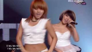 [K-Chart] #19 [NEW]I My Me Mine - 4minute (2010.7.16 / Music Bank)