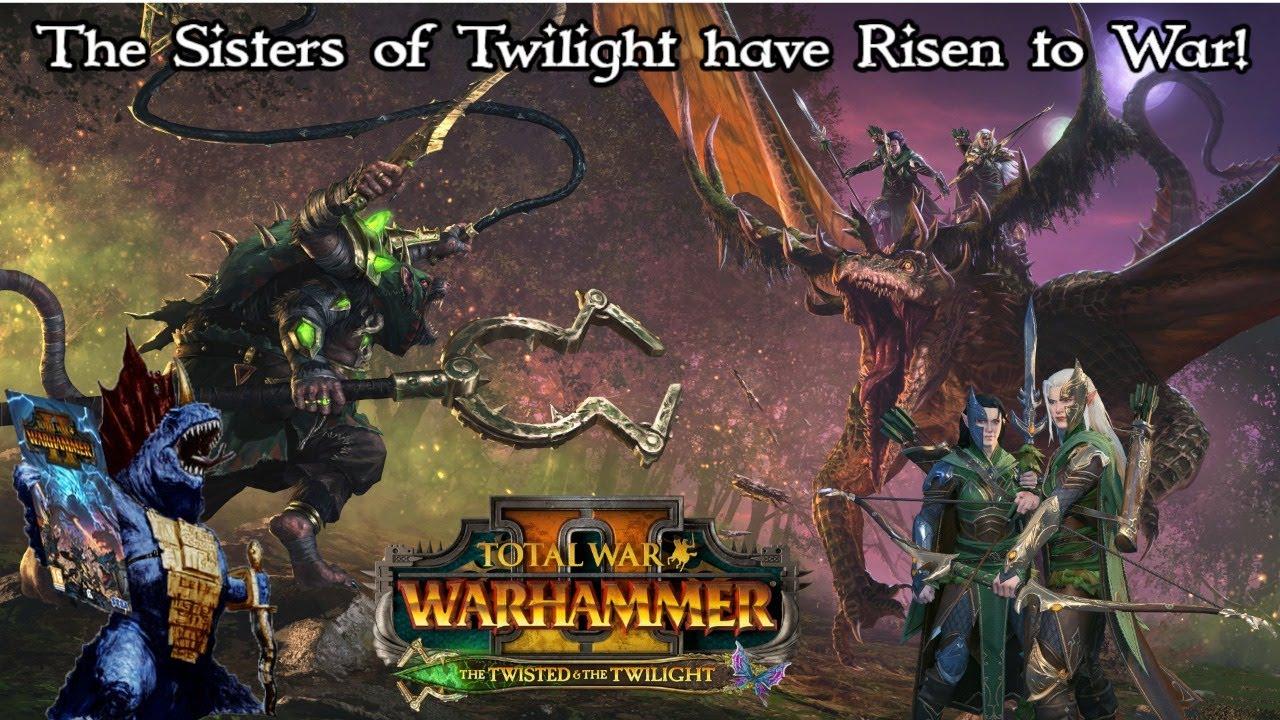 LoremasterOfSotek - Back to Streaming! Chill Total War Warhammer stream to start off the week!