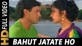 Bahut Jatate Ho Chah Humse | Alka Yagnik, Mohammad Aziz | Aadmi Khilona Hai 1993 Songs | Govinda width=