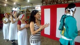 Dada Dançando a musica Festa do Morango-Atibaia- 2012
