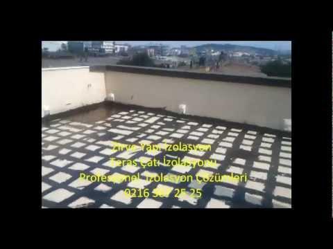 Yeni Çatı İzolasyonu Teknikleri : 0216 367 25 25 - İstanbul Teras Çatı İzolasyonu  Merkezi