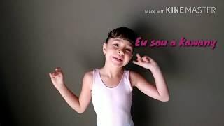 MEU PRIMEIRO VÍDEO - AULA DE BALÉ!!