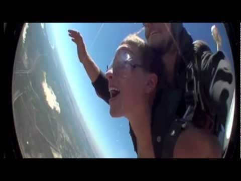 Skydiving in Capetown, South Africa