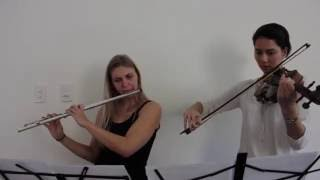 Who Is She (Disney's Cinderella 2015) - Flute and Violin Duet