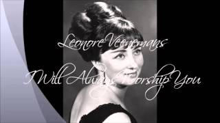 LEONORE VEENEMANS - I WILL ALWAYS WORSHIP YOU