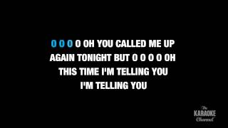 """We Are Never Ever Getting Back Together in the Style of """"Taylor Swift"""" karaoke lyrics"""
