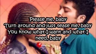 Cardi B & Bruno Mars - Please Me | Lyrics on Screen