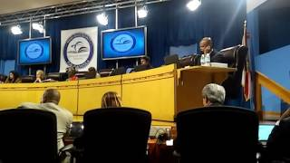 Pedro Mora July 2016 Miami Dade Board Meeting