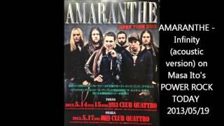 AMARANTHE -  Infinity (acoustic live version) PRT version