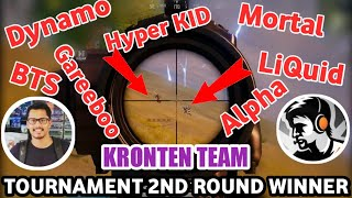 Kronten Team Vs Dynamo, Soul Mortal, LiQuid, BTS, Gareeboo, Alpha Clasher Youtube Tournament Final