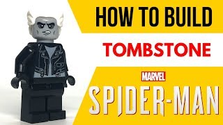 HOW TO Build Tombstone from Spider-Man PS4