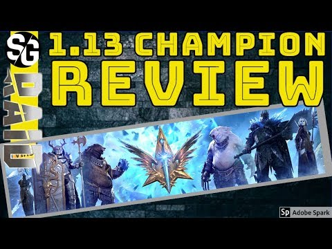 RAID SHADOW LEGENDS | 1.13 CHAMPION REVIEW