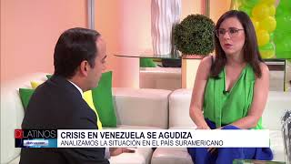La periodista Carla Angola nos habla de la crisis en Venezuela