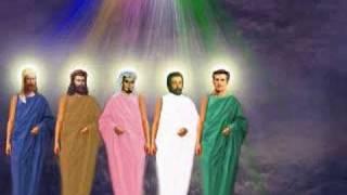 Meditação-Mestres Ascensionados e os  7 raios