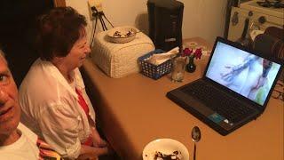 Grandparents Watch Infant Annihilator