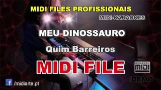♬ Midi file  - MEU DINOSSAURO - Quim Barreiros