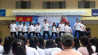 [06.03.2016] Uptown Funk + Beautiful Now dance cover by 10C10_THPT NHC (2)