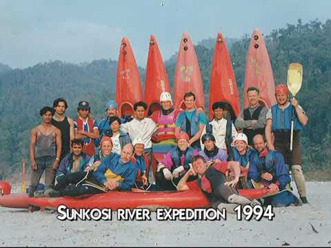 Sun Kosi Whitewater river expedition 1994. Kayak in Nepal (short version)