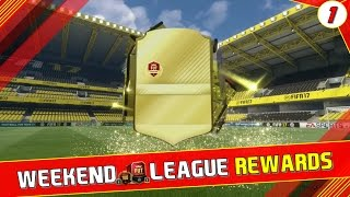 WEEKEND LEAGUE REWARDS #1 | PACK OPENING! - FIFA 17 FUT Champions