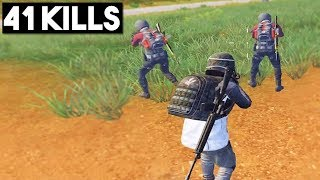 WHY HEADSET IS A MUST!   41 KILLS Duo vs SQUADS   PUBG Mobile