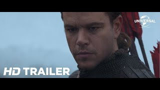 A Grande Muralha - Trailer Oficial 1 (Universal Pictures) [HD]
