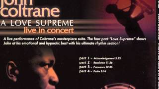 John Coltrane - French Intro to 'A Love Supreme'