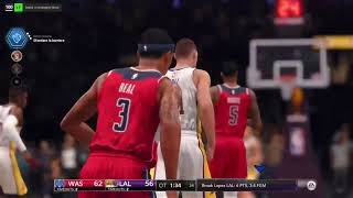 NBA LIVE 18 : LAKERS - WIZARDS, XBOX ONE S THE ONE MODE