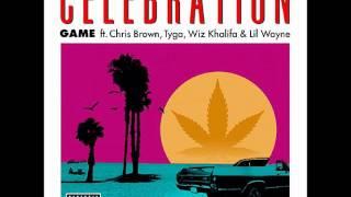 [HQ] GAME - Celebration feat. Chris Brown, Lil Wayne, Wiz, Tyga NEW 2012