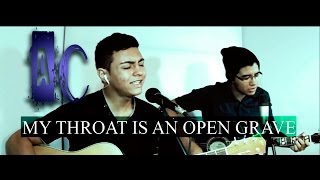My Throat is an Open Grave (Demon Hunter acoustic cover)