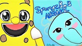SpongeBob Anime Opening 2 | Paint 3D Version