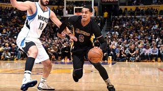 Jordan Clarkson CAREER HIGH 35 Points in Los Angeles! | March 24, 2017