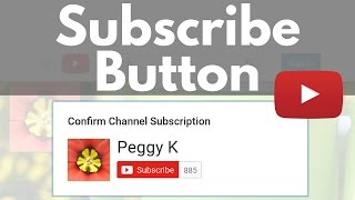 Create a YouTube Subscribe Button for your Website or Blog